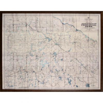 1958 map algonquin park