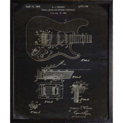 1964 fender patent