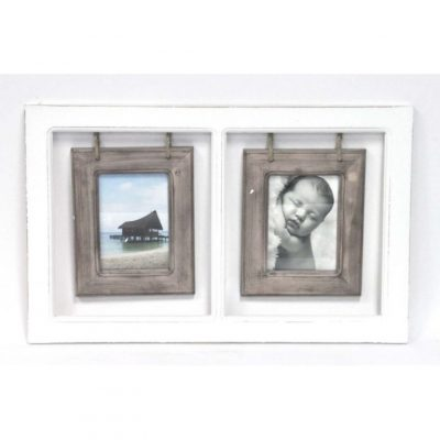 2 photo collage frame