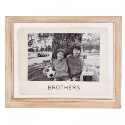 4x6 Brothers Glass Frame