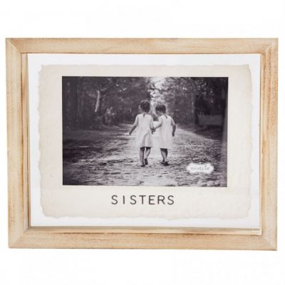 4x6 Sisters Glass Frame