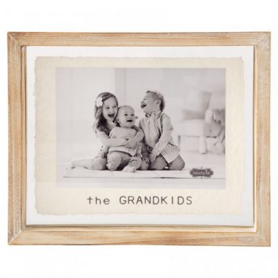 5x7 Grandkids Glass Frame