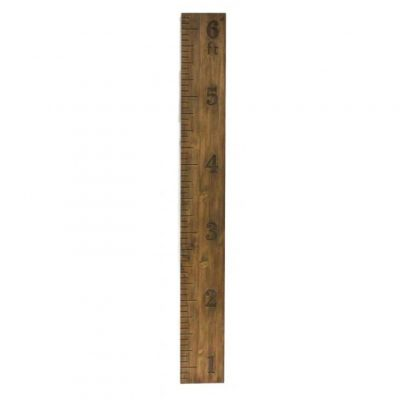 6 ft. Wood Ruler Wall Decor
