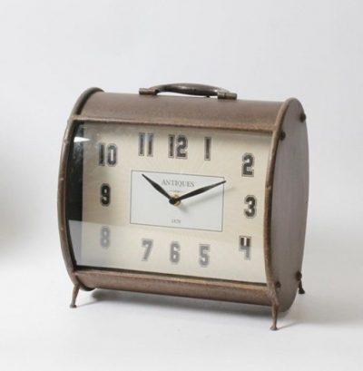Agata Oval Table Clock