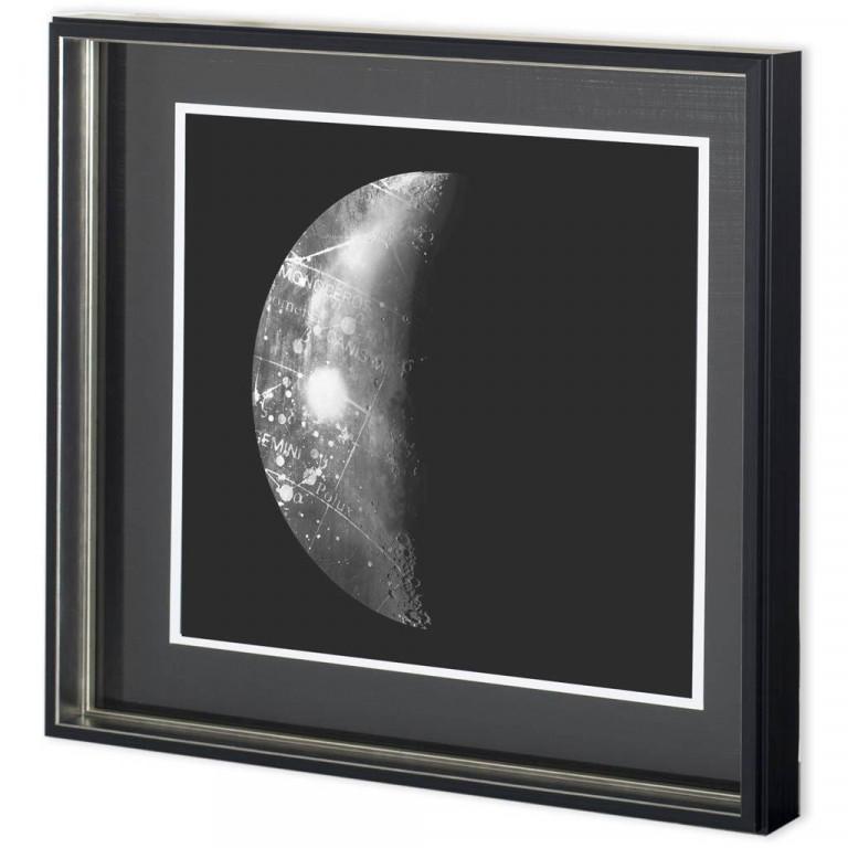 Abstract Moon Phase I