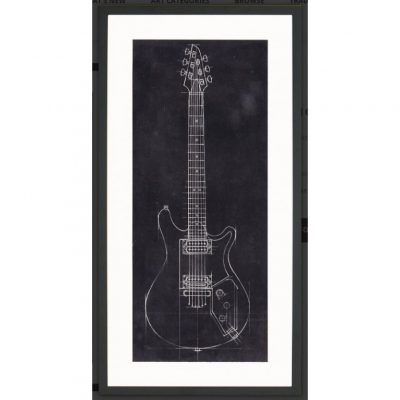 Electric Guitar Blueprint II
