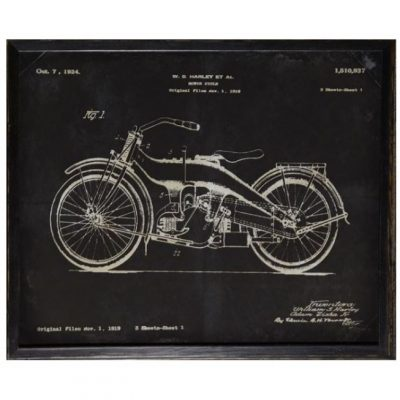 Harley Patent 1924 Art