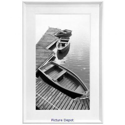 Small Boats on a Lake