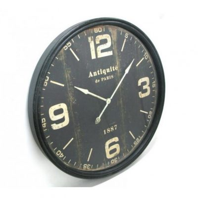 Antiquite de Paris Round Wall Clock