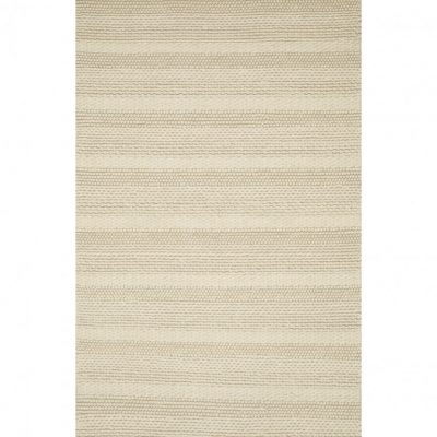 apen hand knotted wool ivory rug