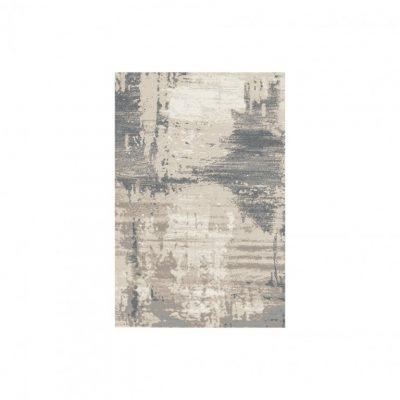 aria cream dark grey rug