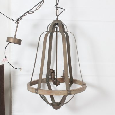 bell shaped chandelier