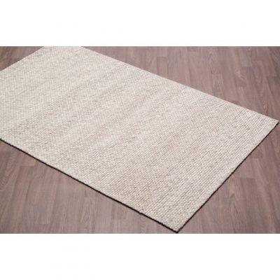 chinook ivory handmade wool rug