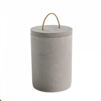 concrete canister large