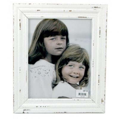 distressed white frame 8x10