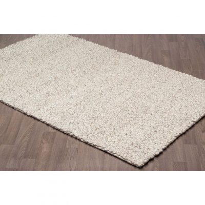 exquisite hand knotted pebble rug