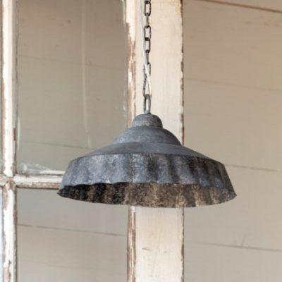 galvanized bottle cap light fixture