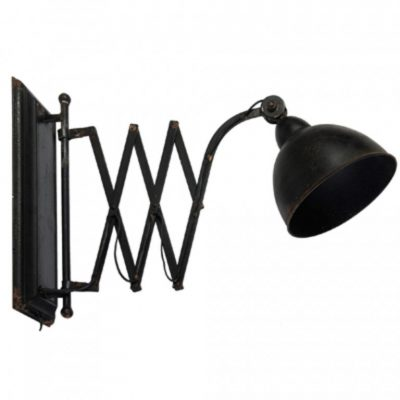 oliver extendable iron wall lamp