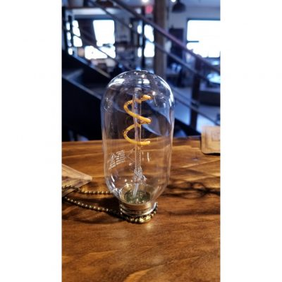 small spiral led edison bulb