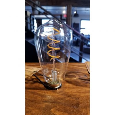 spiral led edison bulb large
