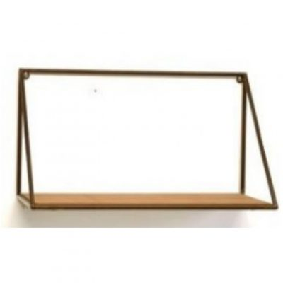 wood metal hanging shelf