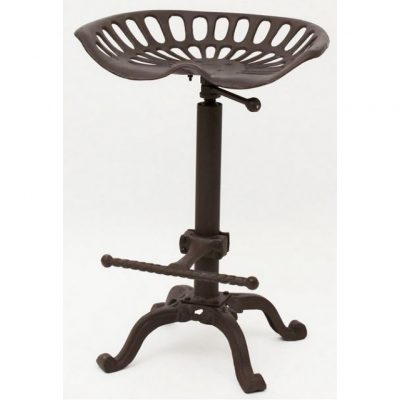 Tractor Seat Bar Stool brown
