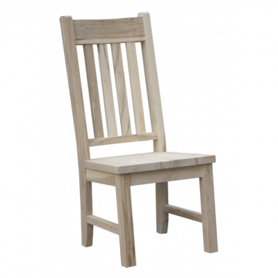 dakota large slatback side chair