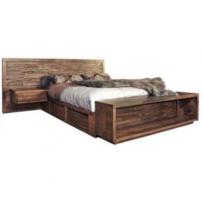ledgerock bed with shelf alt toned