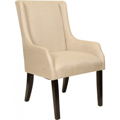 paris wing arm dining chair