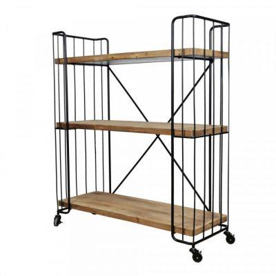 quimby 3 tier bookshelf