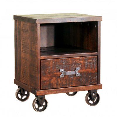steampunk nightstand