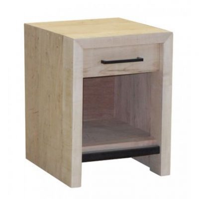warehouse one drawer nightstand