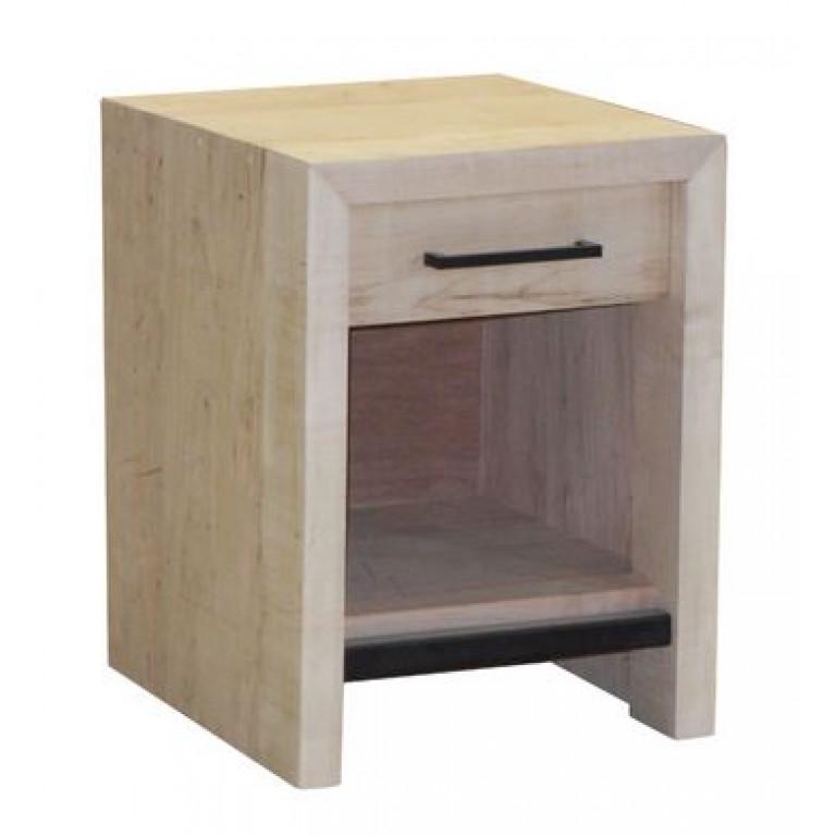 warehouse one drawer nightstand